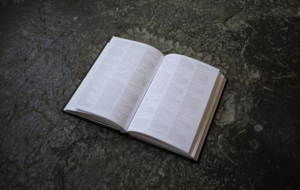 Nicholas Felton's book of communications