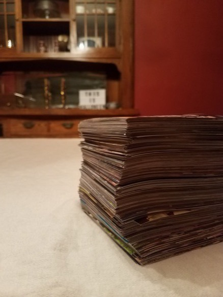 Stack of 500 photos